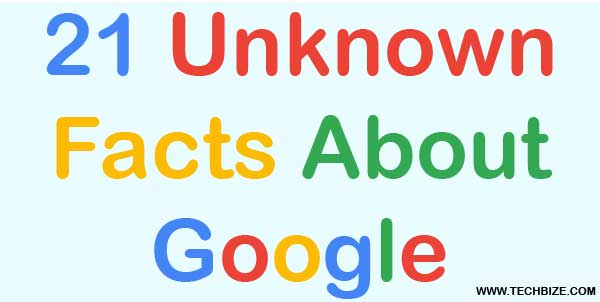 Unknown Facts About Google